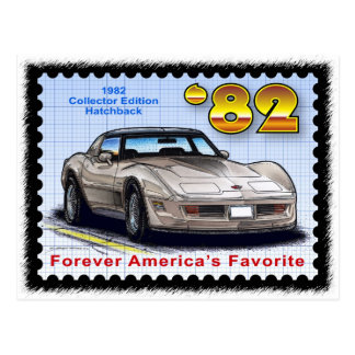 1982 Special Edition Corvette Postcard