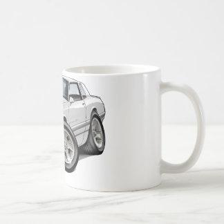 1983-88 Monte Carlo White-Grey Car Coffee Mug