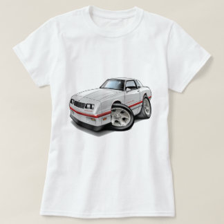 1983-88 Monte Carlo White-Red Car T-Shirt