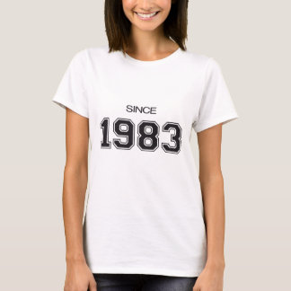 1983 birthday gift idea T-Shirt