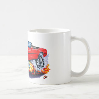 1984-93 Corvette Red Convertible Coffee Mug