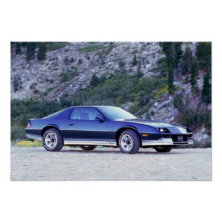 1984 Chevy Camaro Z28 Poster