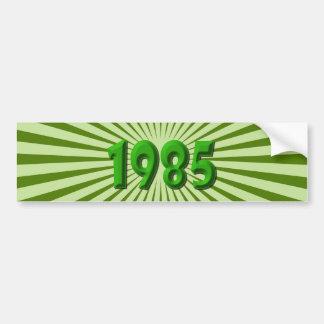 1985 AUTOCOLLANTS POUR VOITURE