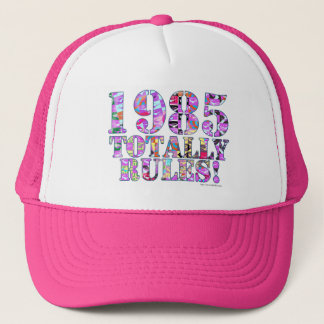 1985 Totally Rules Trucker Hat