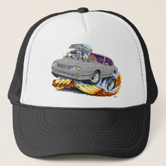 1986-88 Monte Carlo Grey Car Trucker Hat