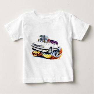 1986-88 Monte Carlo White-Black Car Baby T-Shirt