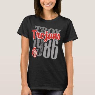 1986 Troy Trojans Woman's Dark Tee