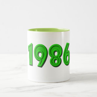 1986 Two-Tone COFFEE MUG