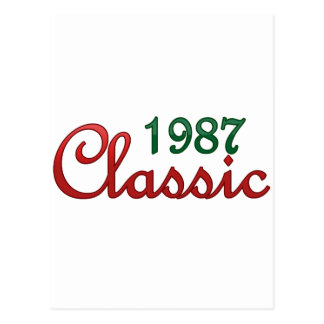 1987 Classic Postcard