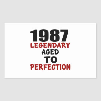 1987 LEGENDARY AGED TO PERFECTION