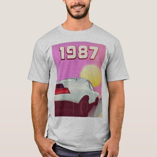 1987 sportscar poster T-Shirt