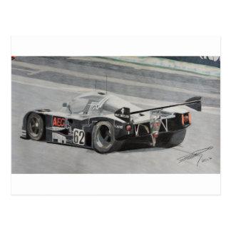 1988 Sauber C9 Mercedes Postcard