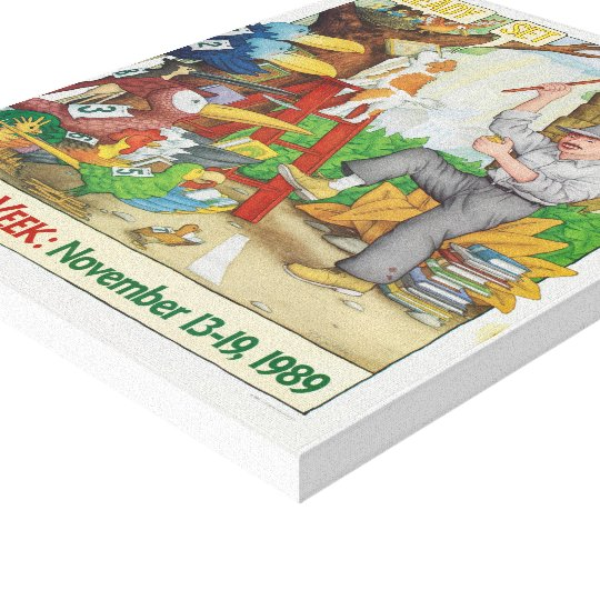 1989 Children's Book Week Canvas