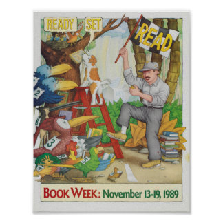 1989 Children's Book Week Poster