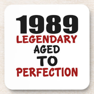 1989 LEGENDARY AGED TO PERFECTION COASTERS