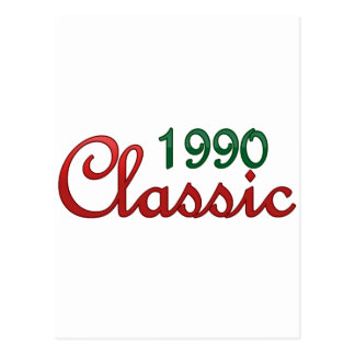 1990 Classic Postcard