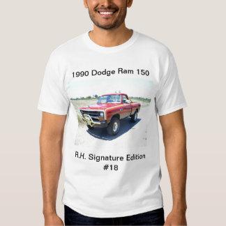 1990 Dodge Ram 150 Rod Hall Signature Edition #18 Tee Shirt