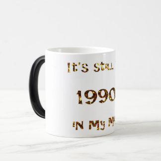 1990s Nostalgia Gold Glitter Magic Mug