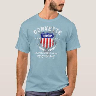 1992 Corvette American Muscle v3 T-Shirt