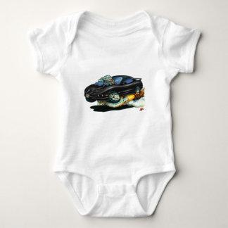 1993-97 Trans Am Black Car Baby Bodysuit