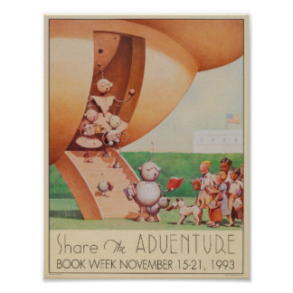 1993 Children's Book Week Poster