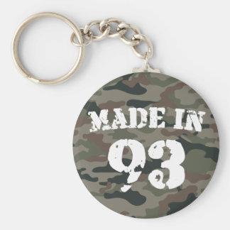 1993 Made in 93 Basic Round Button Keychain