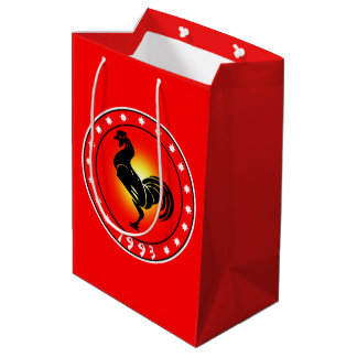 1993 Year of the Rooster Medium Gift Bag