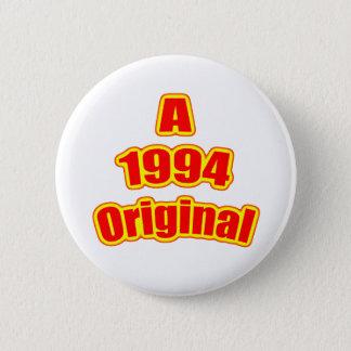 1994 Original Red 2 Inch Round Button