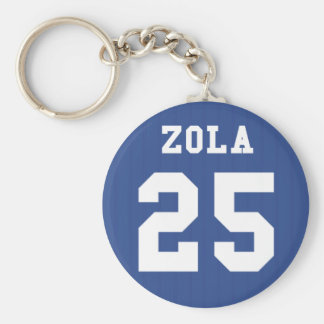 1995-97 Chelsea Home Keyring- ZOLA 25 Keychain