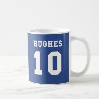 1995-97 Chelsea Home Mug - HUGHES 10
