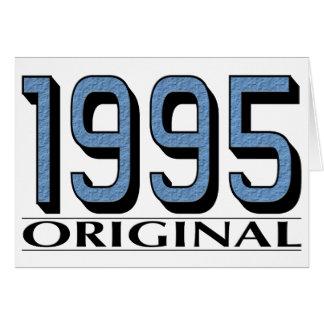 1995 Original Card
