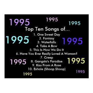 1995 Songs Postcard