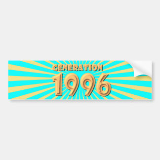 1996 ADHÉSIFS POUR VOITURE