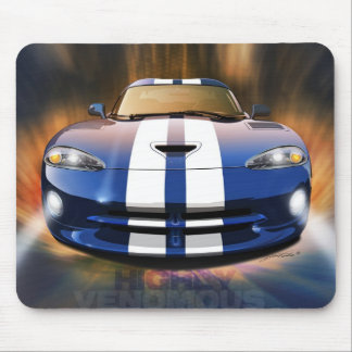 1996 Dodge Viper GTS mouse pad
