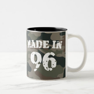 1996 Made In 96 Two-Tone Coffee Mug