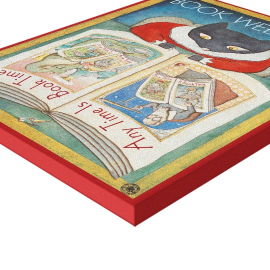1997 Children's Book Week Canvas