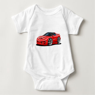 1998-02 Trans Am Red Car Baby Bodysuit