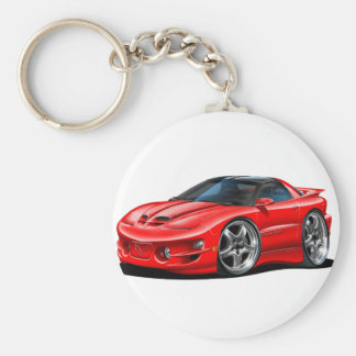 1998-02 Trans Am Red Car Keychain
