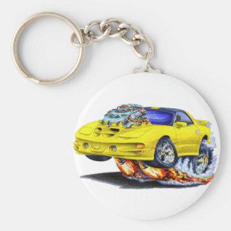 1998-02 Trans Am Yellow Car Keychain