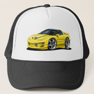 1998-02 Trans Am Yellow Car Trucker Hat