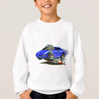 1998-2004 Corvette Blue Car Sweatshirt