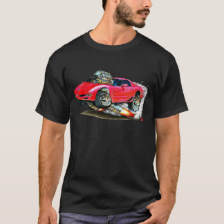 1998-2004 Corvette Red Car T-Shirt