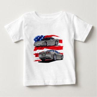 1999-04 Corvette Grey Car Baby T-Shirt