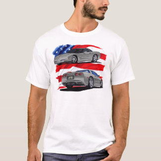 1999-04 Corvette Grey Car T-Shirt