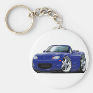 1999-05 Miata Dark Blue Car Keychain