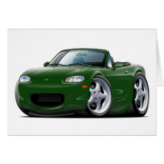 1999-05 Miata Green Car Card