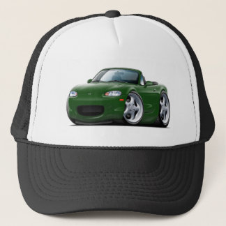 1999-05 Miata Green Car Trucker Hat