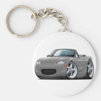 1999-05 Miata Grey Car Keychain
