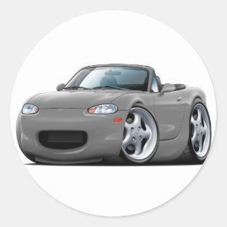 1999-05 Miata Grey Car Stickers