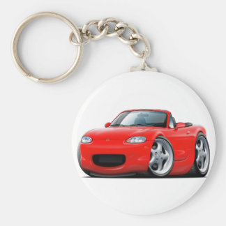 1999-05 Miata Red Car Keychain